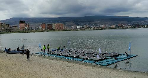 Gallery  HelioRec Floating Solar Power Plant 2