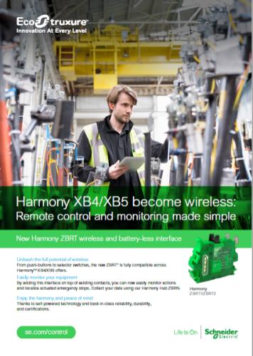 Gallery Harmony wireless battery-less Interface 2