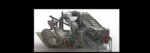 Gallery Combined steam drying and pyrolysis unit 2