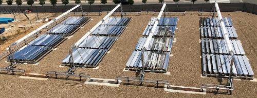 Gallery LF20: Linear Fresnel Solar Collector 2