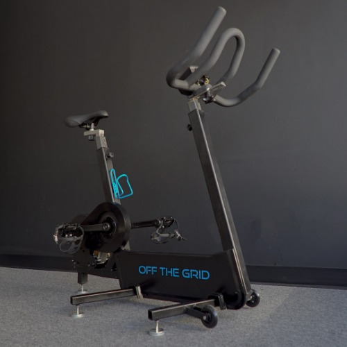 Gallery Off The Grid electricity generating spinning bike 2