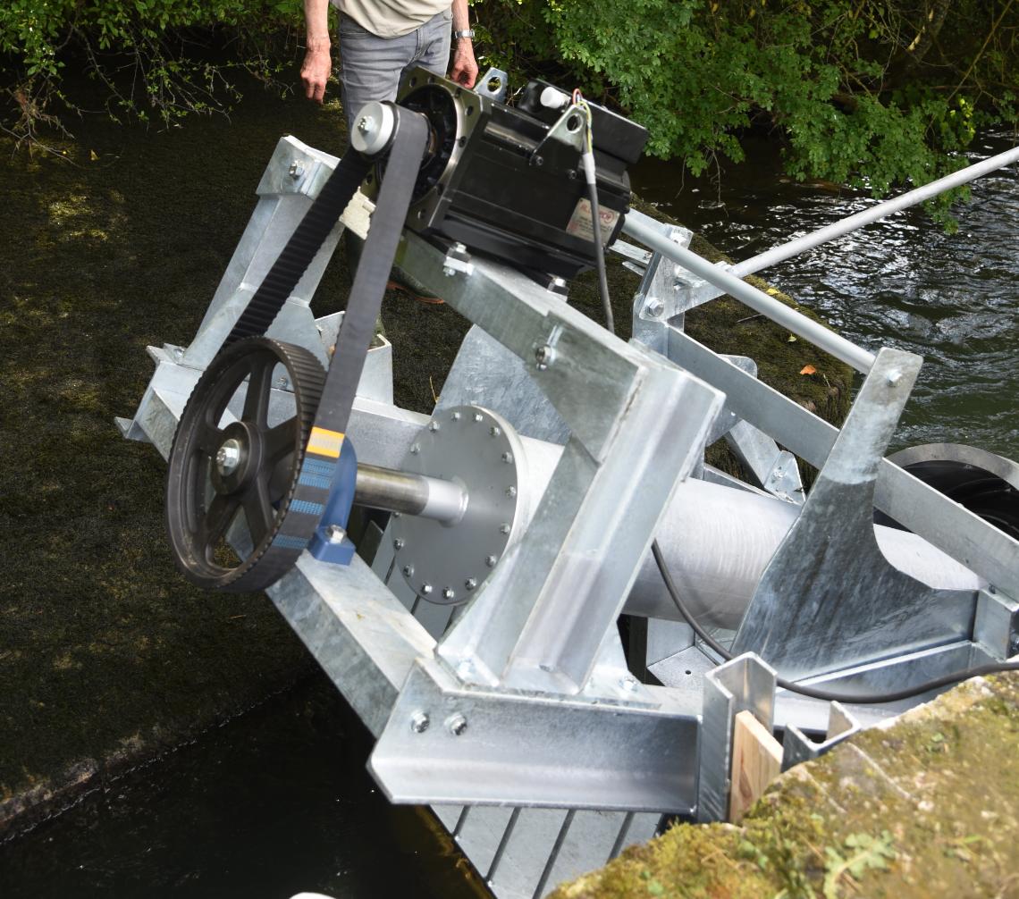 Gallery Multi-thread geometry hydrodynamic turbine 3