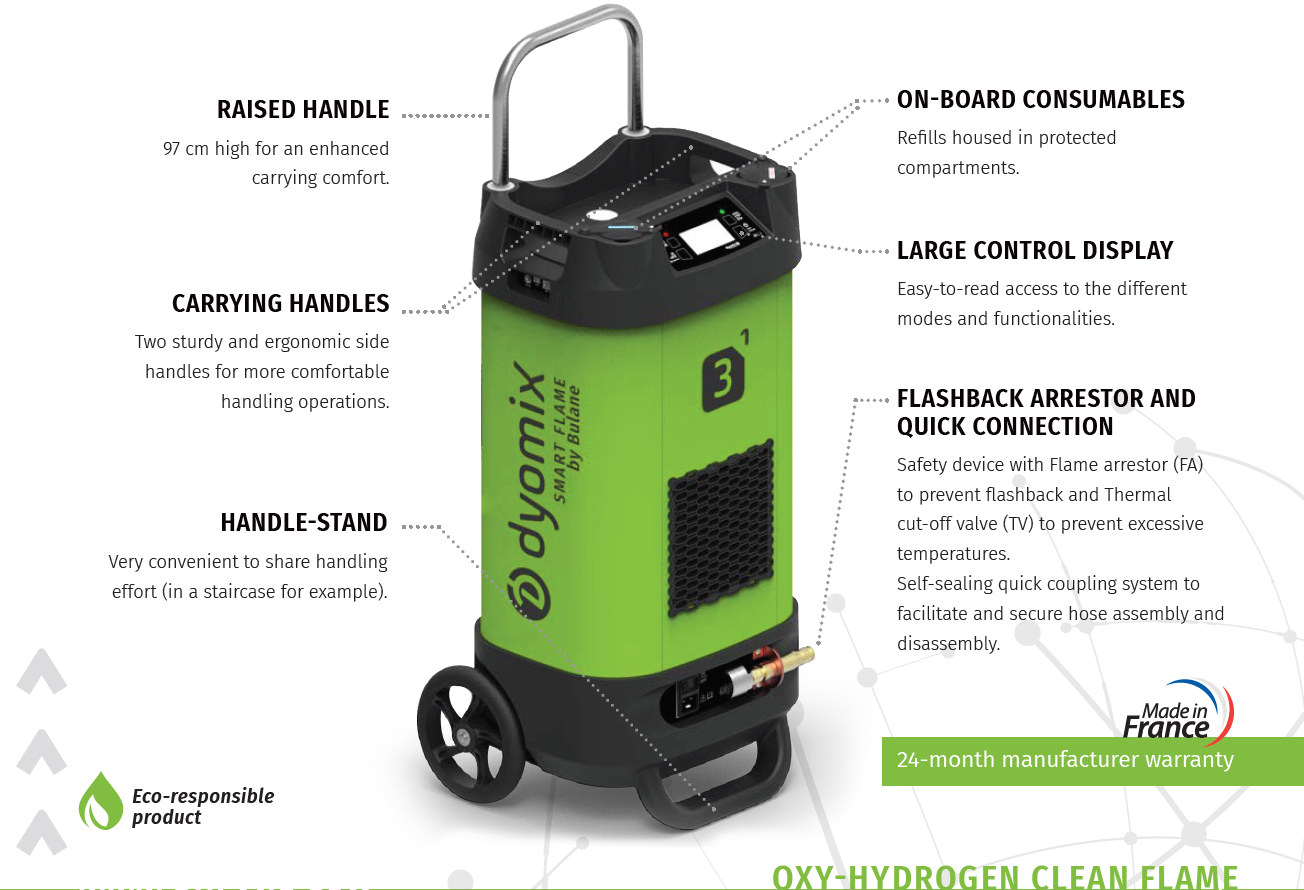 Gallery  Dyomix Oxy-Hydrogen Mobile gas generator  3