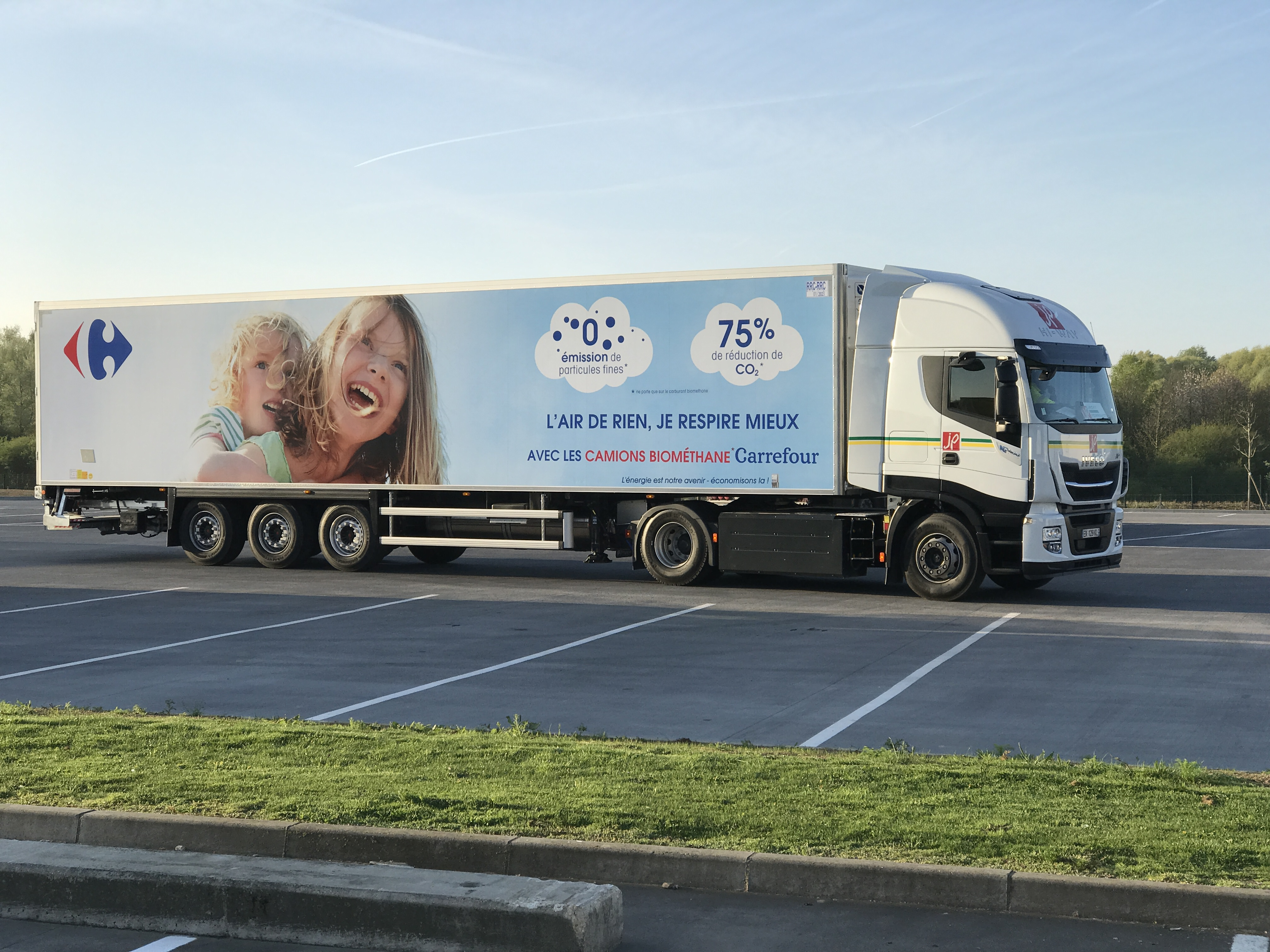 Gallery Biogas heavy truck fleet 3