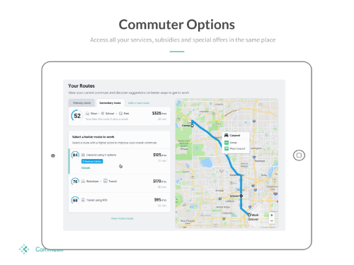 Gallery Commuter Score and Commute Management Platform 3