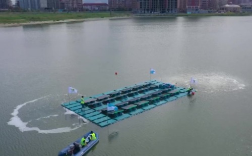 Gallery  HelioRec Floating Solar Power Plant 3
