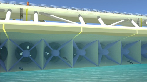 Gallery Fish Friendly Free Flow Turbine 3