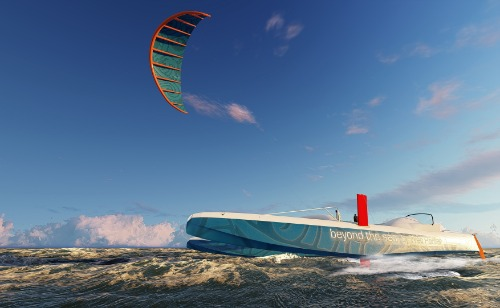 Gallery Kite traction for motor ships 3