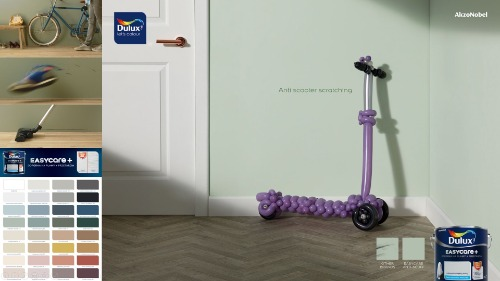 Gallery Dulux Easycare+  Scuff Resist Technology 3