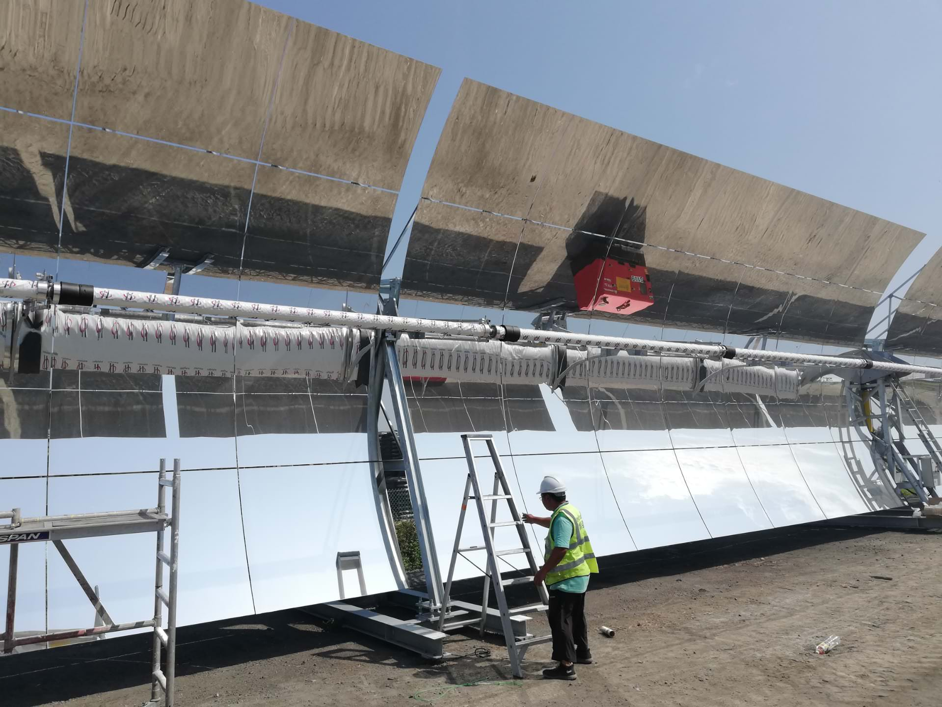 Gallery Concentrated Solar Thermal Solution 4