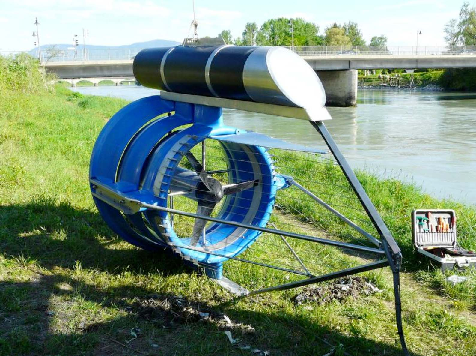Gallery Hydrokinetic Turbine 4