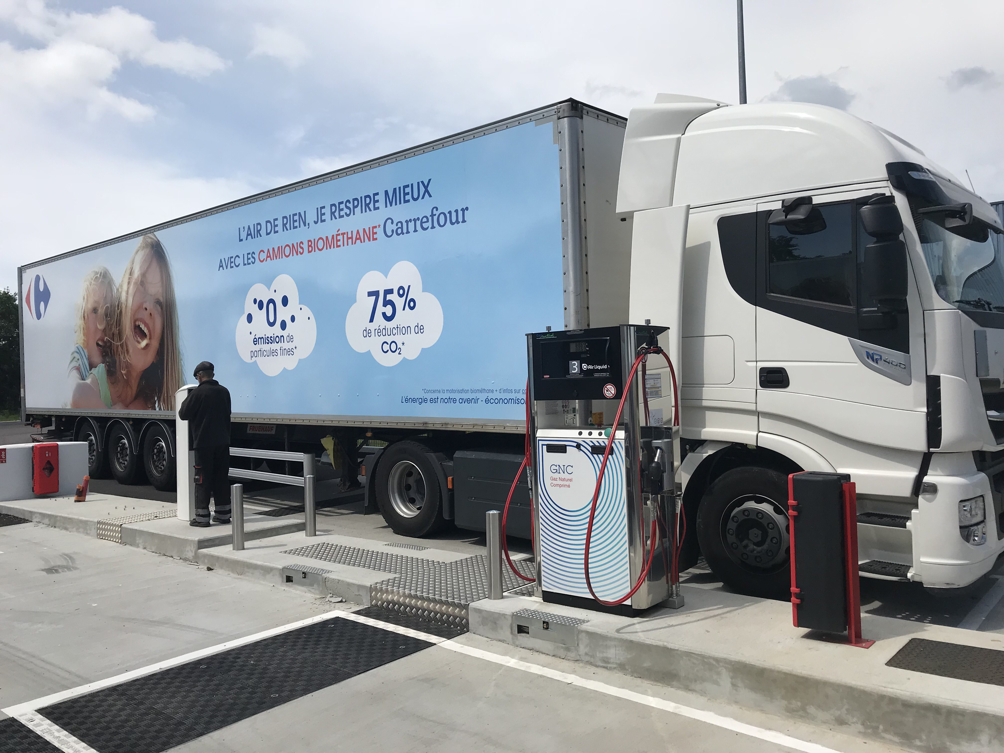 Gallery Biogas heavy truck fleet 4