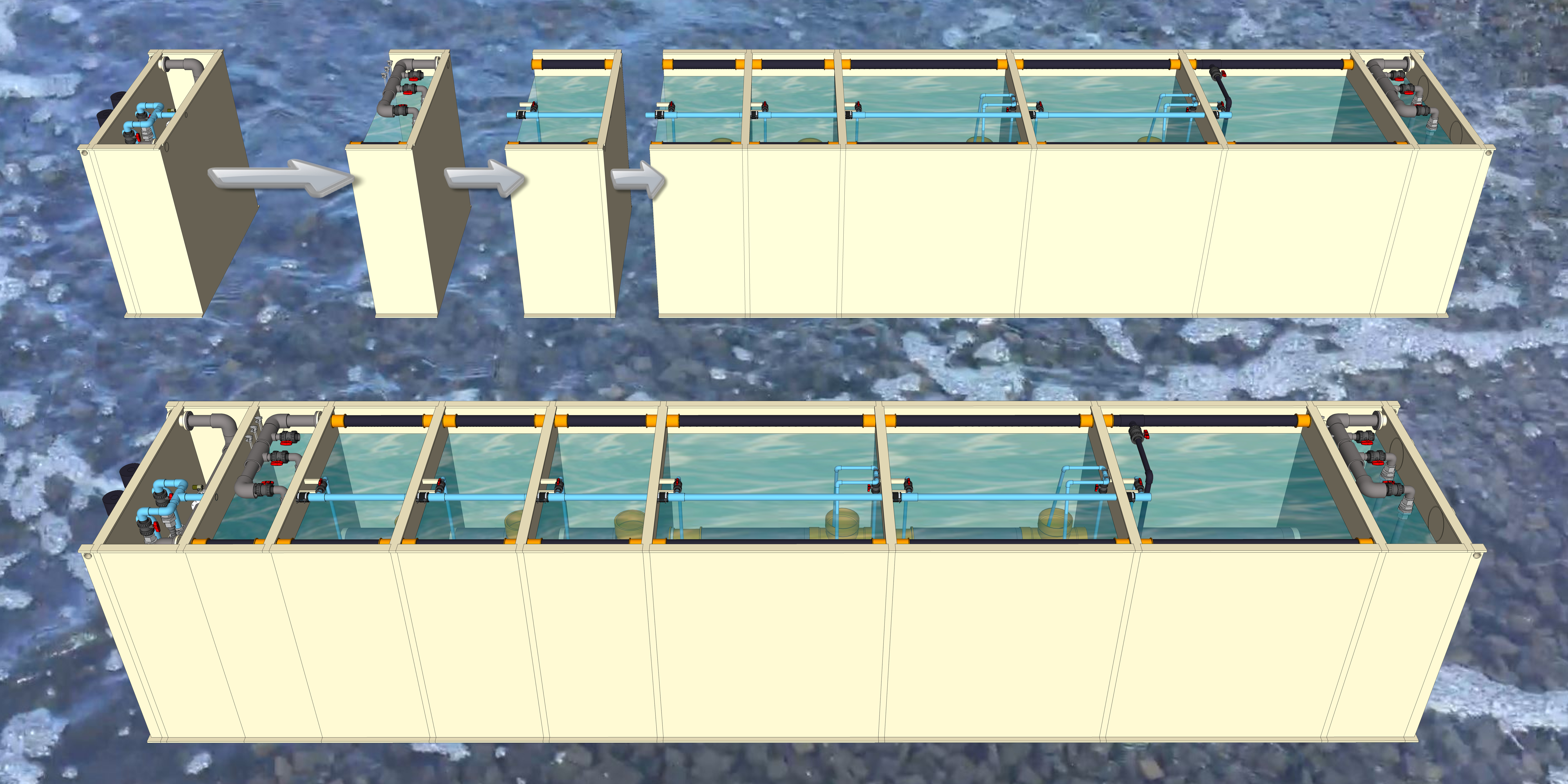 Gallery Water Treatment MBBR BOX  4