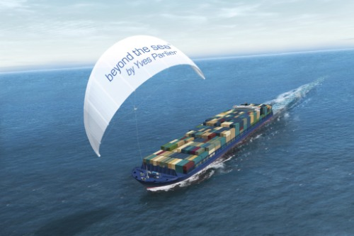 Gallery Kite traction for motor ships 4