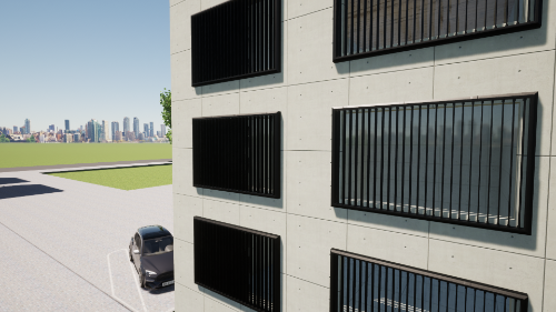Gallery Smart Voltaic Louvres  4