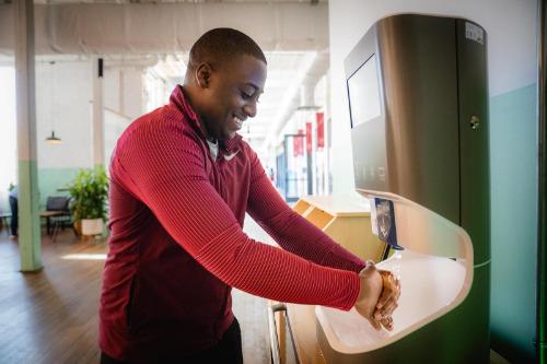 Gallery Combi - handwashing station 4